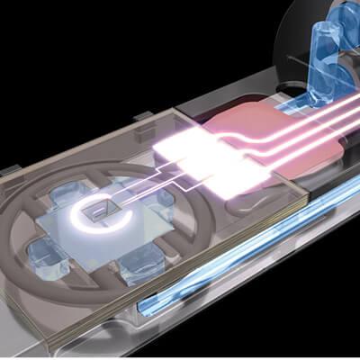 nanorod materials moving in liquid