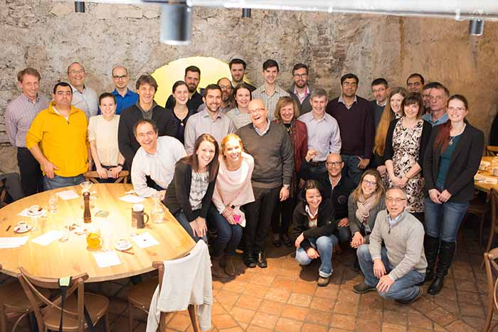 group photo 2018 Protochips Europe Meeting